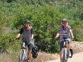 Vélos électrique sur le chemin des belvédères de Blandas