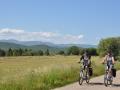 vélos électrique sur les routes du causse de Blandas