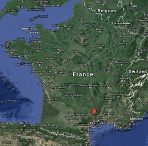 Localisation Cirque de Navacelles