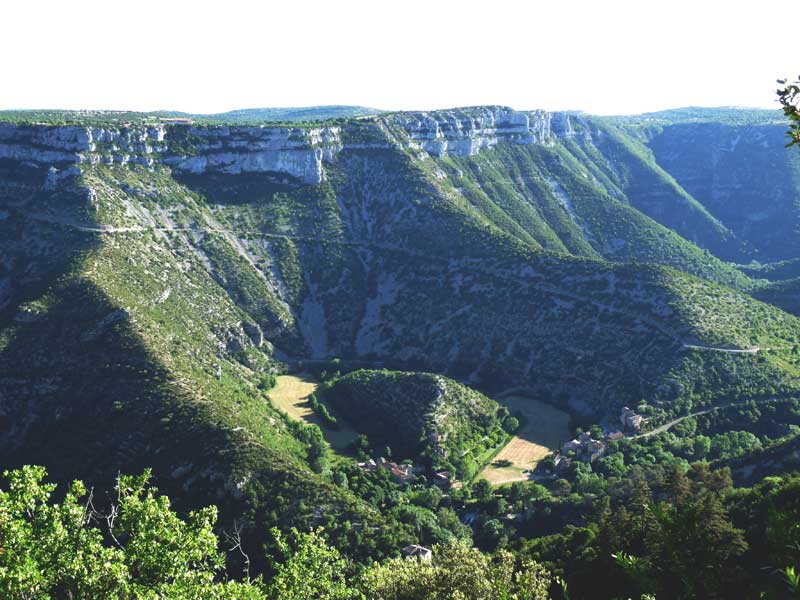 The landscapes of the Grand Site Navacelles