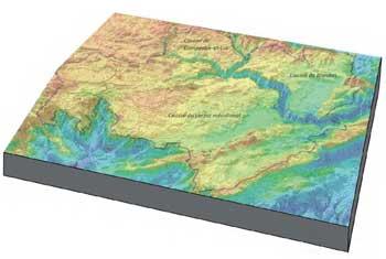 Situation géologique Cirque de Navacelles