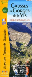 Carto guide : Causses et Gorges de la Vis