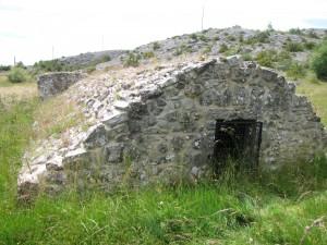 Cazelle, cabane en pierre sèche