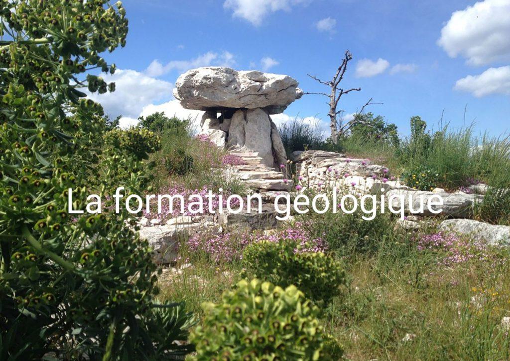 la formation géologique